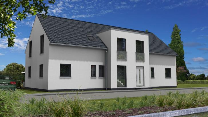 Satteldachhaus in Heidesee
